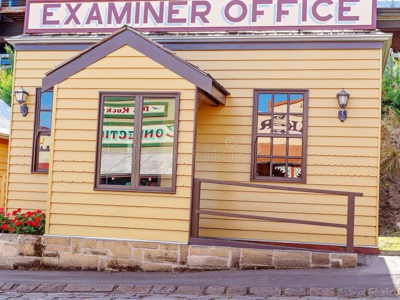 Maritimt museum Australien för granskareOffice At Flagstaff kulle arkivbild