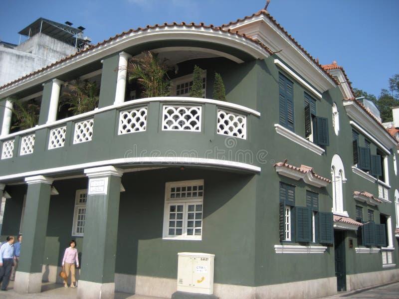 Maritimt museum, Macao royaltyfria foton