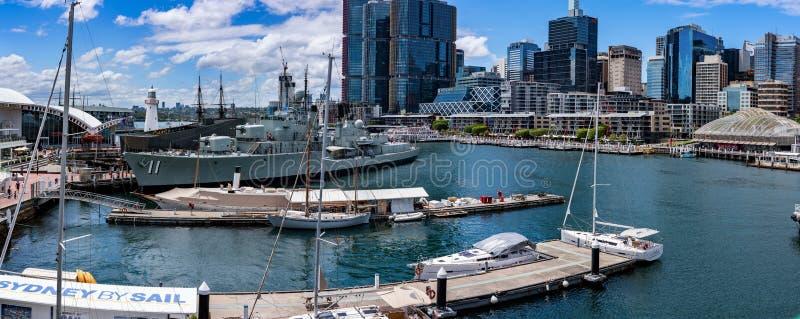 Maritimt museum, Sydney Australia royaltyfria bilder