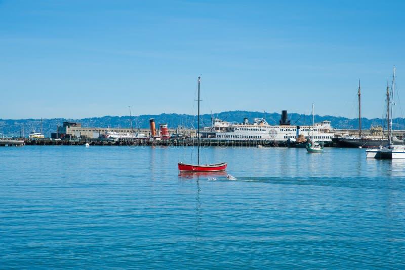 Maritimt nationellt historiskt parkerar royaltyfri fotografi