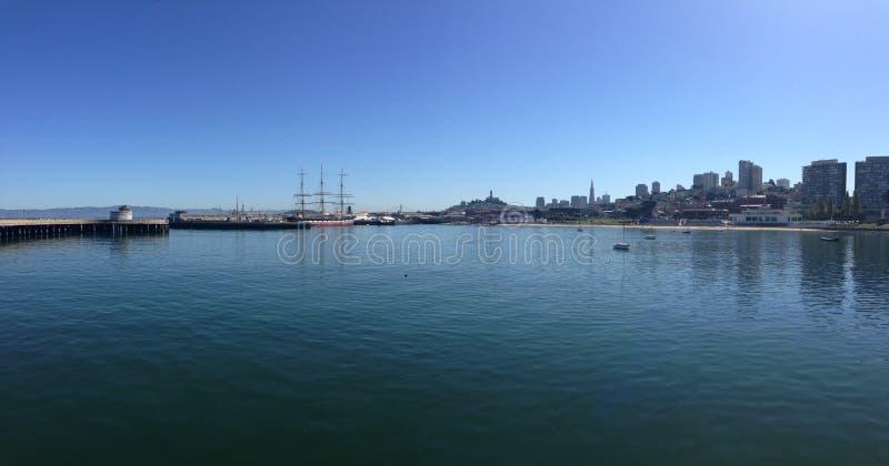 Maritimt nationellt historiskt parkerar panorama royaltyfri bild