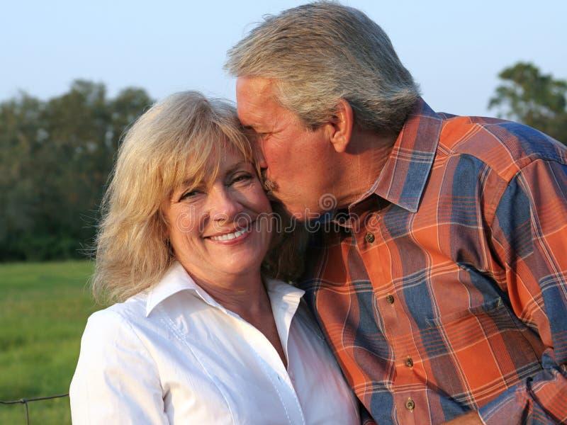 Marito amoroso fotografie stock