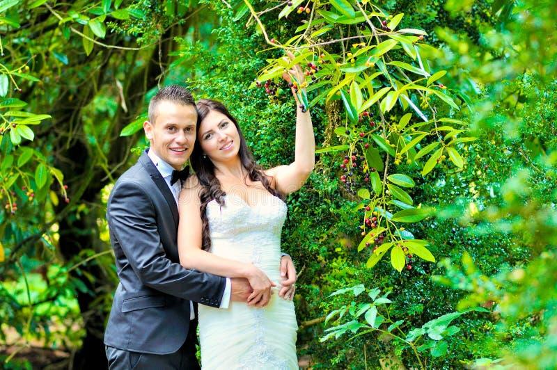 Marito e moglie al palazzo immagine stock