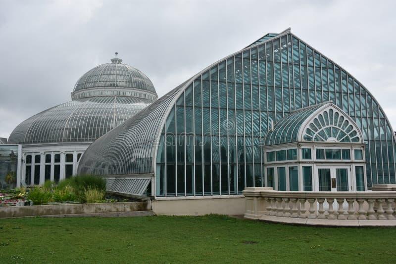 Marjorie McNeely Conservatory em St Paul, Minnesota foto de stock