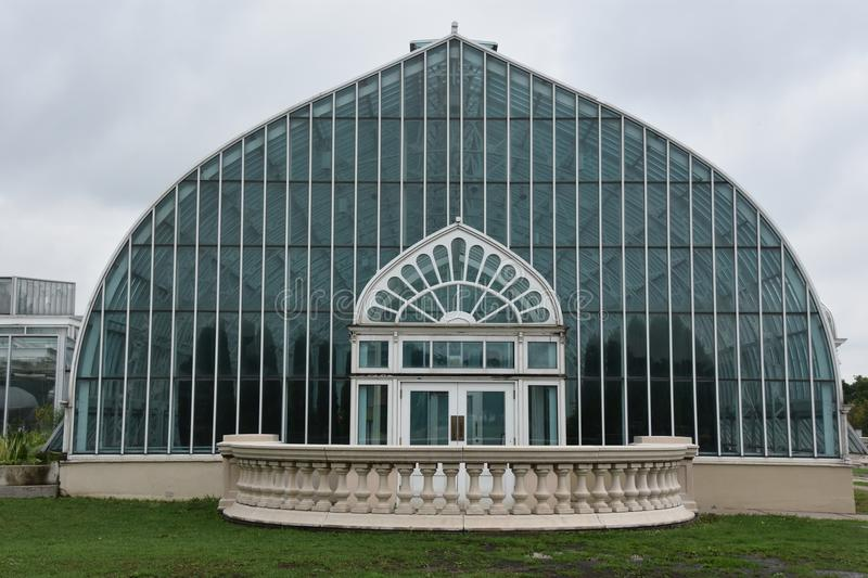Marjorie McNeely Conservatory in St Paul, Minnesota. Marjorie McNeely Conservatory at Como Park in St Paul, Minnesota royalty free stock photos
