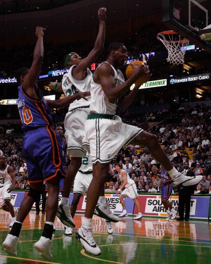 Mark Blount, Boston Celtics fotografia stock
