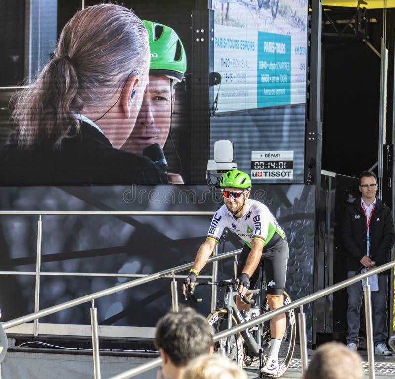 Mark Cavendish - Paris-Tours 2019 stock photography