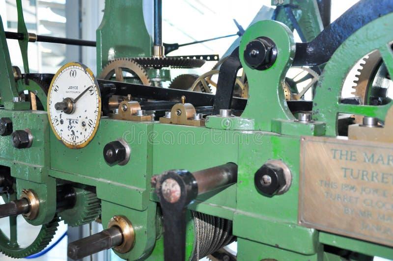 Mark Creasy Turret Clock: Klocka torn i Perth royaltyfria foton