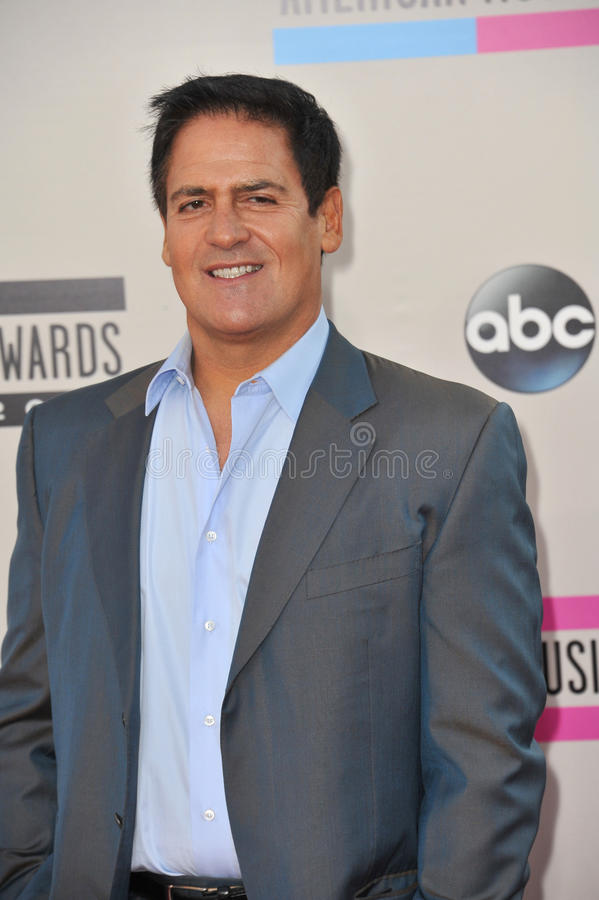 Mark Cuban royalty free stock images