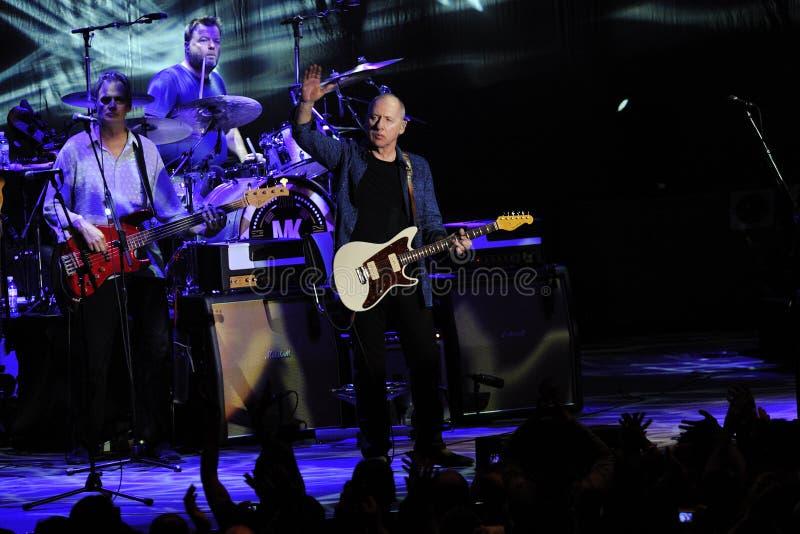 Mark Knopfler en el concierto 5-3-2013 fotografía de archivo