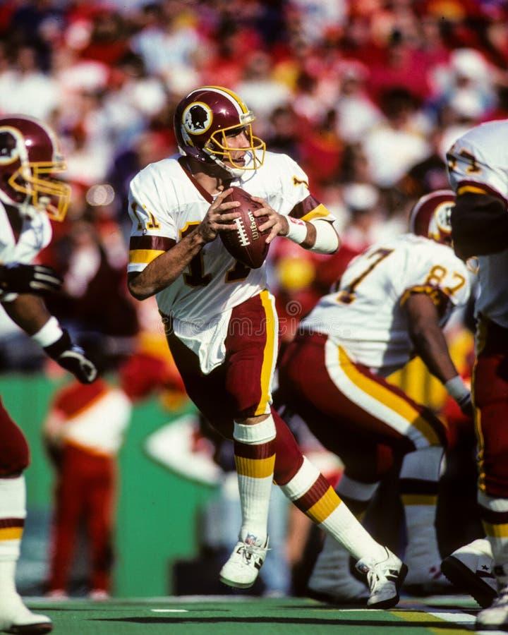 Mark Rypien Washington Redskins fotografia de stock