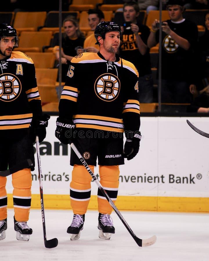 Mark Stuart Boston Bruins fotografia stock libera da diritti