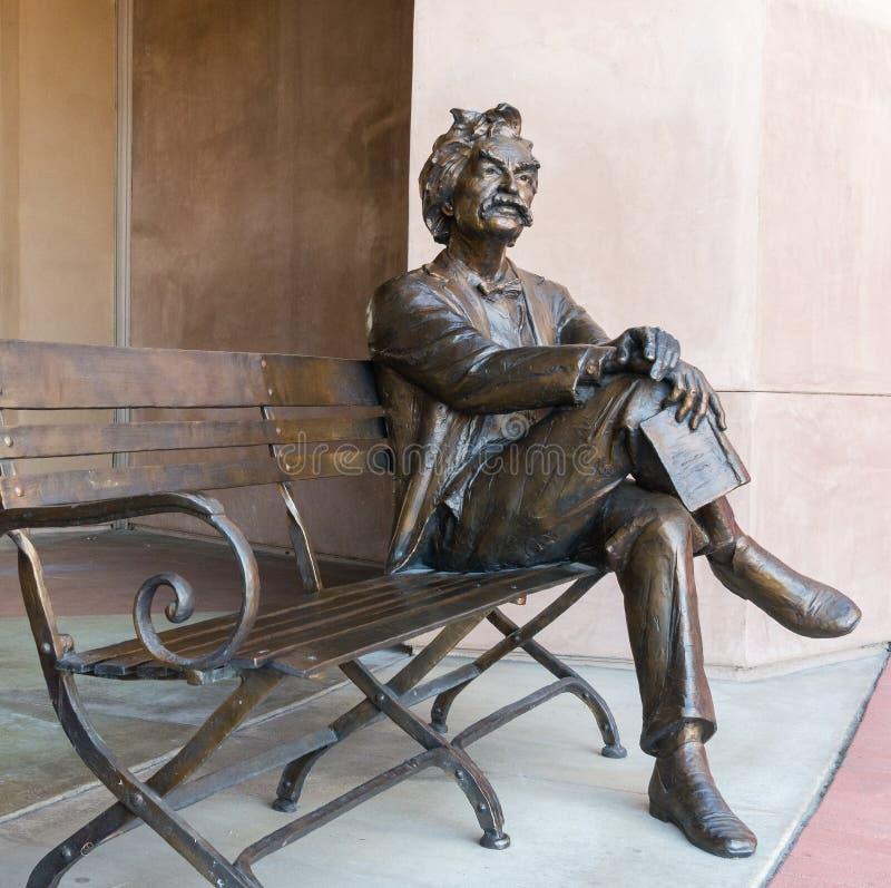 Mark Twain em Palm Desert imagem de stock