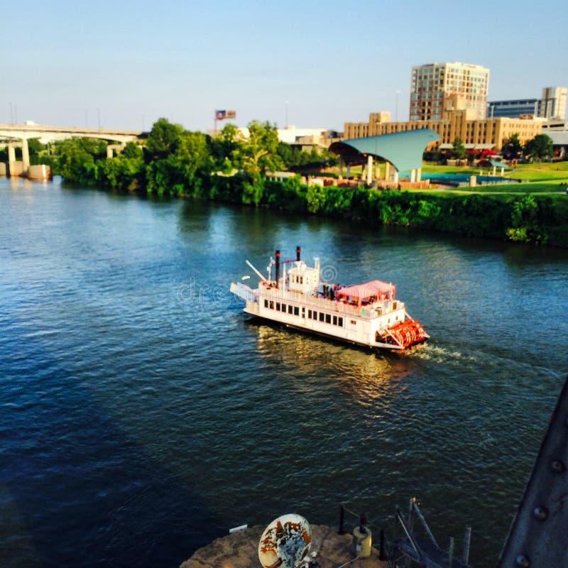 Mark Twain Riverboat royalty-vrije stock afbeeldingen