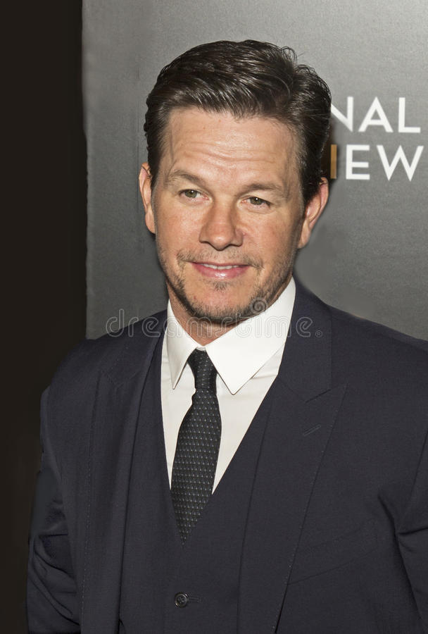 Mark Wahlberg Scores à NBR attribue le gala photos libres de droits