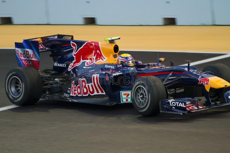 Mark Webber stock photo