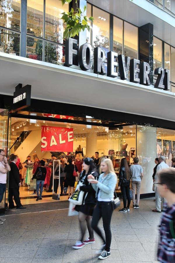 Marka Forever 21 obrazy stock