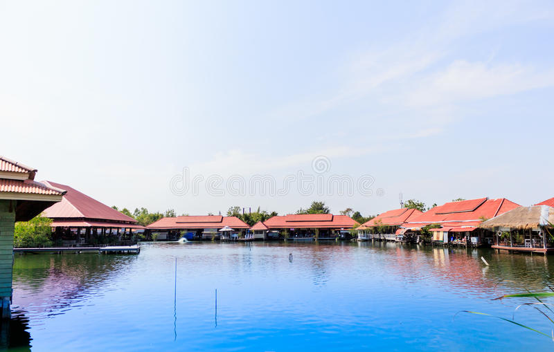 Marke samphannam Huahin плавая, Таиланд стоковое изображение