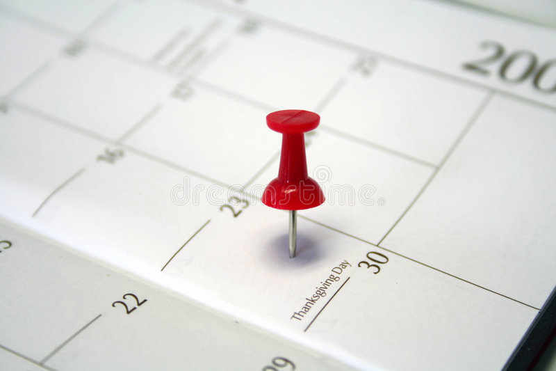 Marked date stock photo