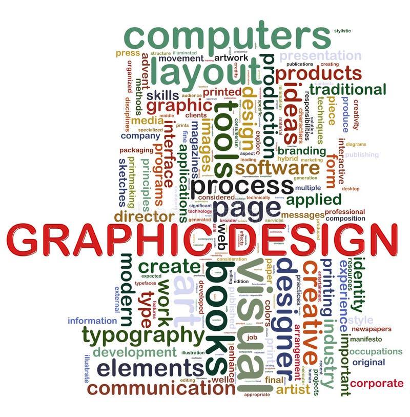 Marken der grafischen Auslegung stock abbildung