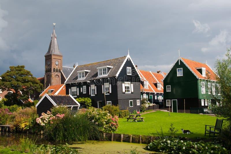 Marken - Holland stock afbeelding