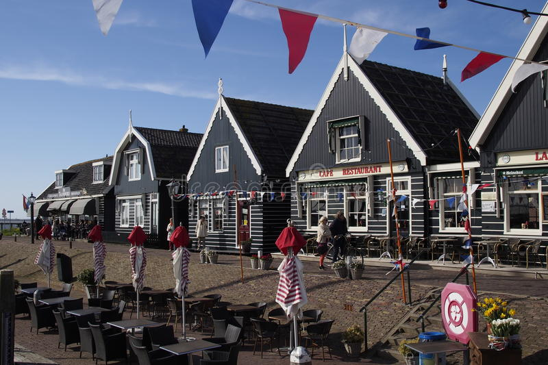 Marken holland fishermen village editorial stock image for Classic dutch house of 60m2