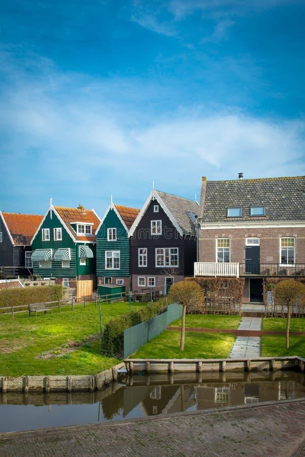 Marken, Holland, Netherland, wioska zdjęcie stock