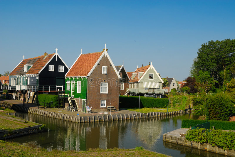 Download Marken, Netherlands stock photo. Image of mortgage, marken - 5483894