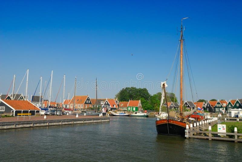 Marken, Países Baixos imagem de stock