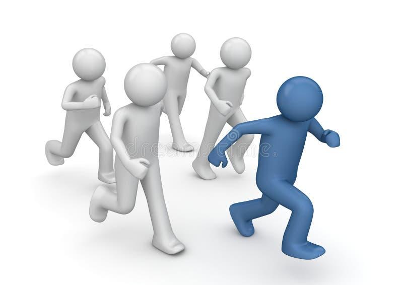 Markenspielseitentriebe, Geschäft oportunities stock abbildung