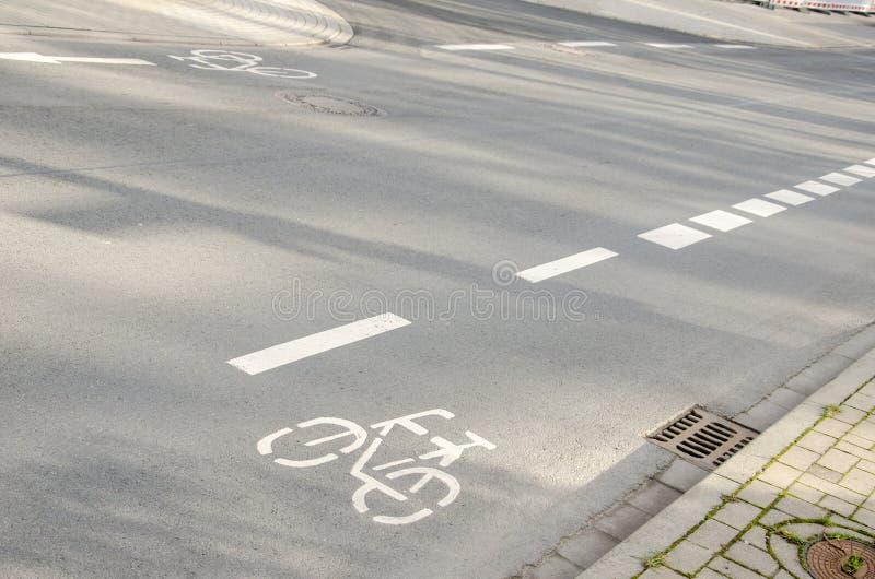 Markering för vägyttersida arkivbild