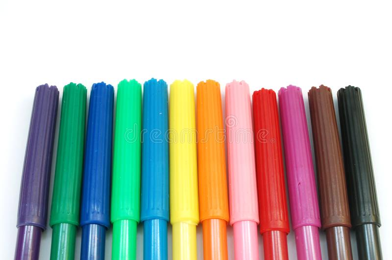 Markers #2 royalty free stock photos