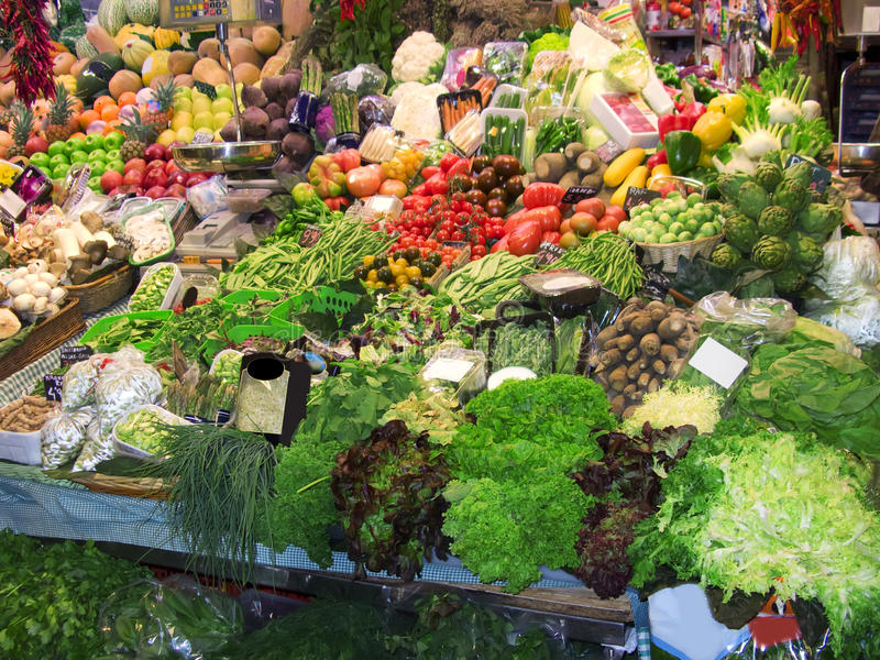At the market royalty free stock photography