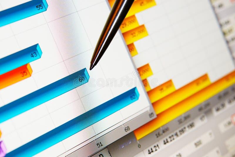 Market analyze royalty free stock photos