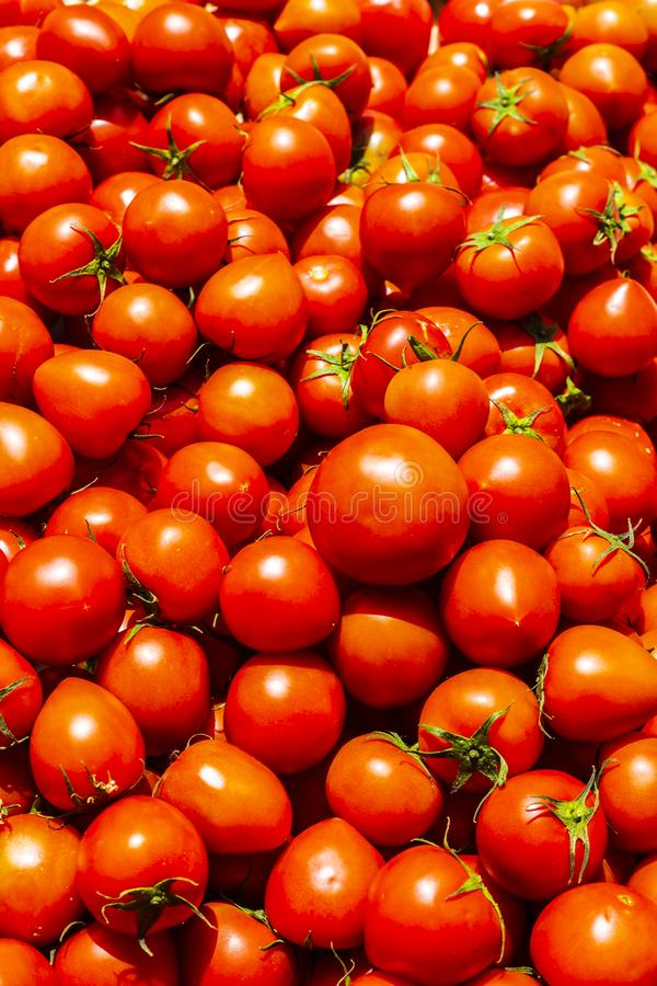 Market in Chania, Greece. Tomatoes, Chania, Crete Greek Islands Greece Europe royalty free stock photo