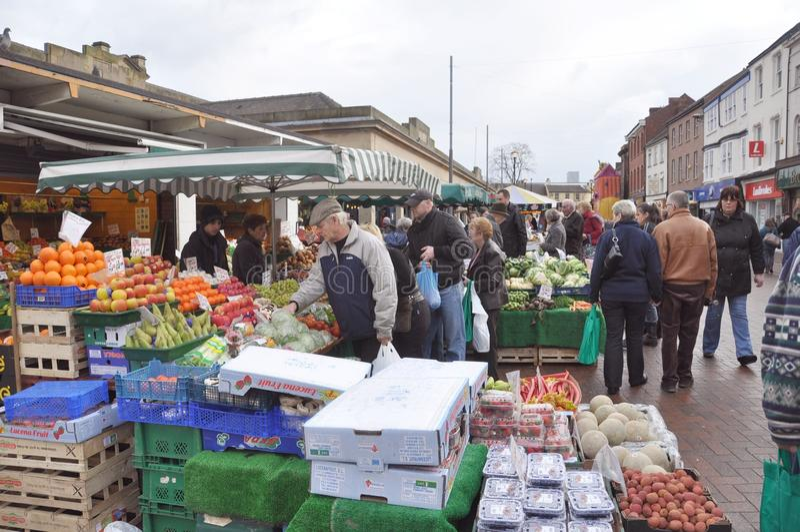 market day stock photos