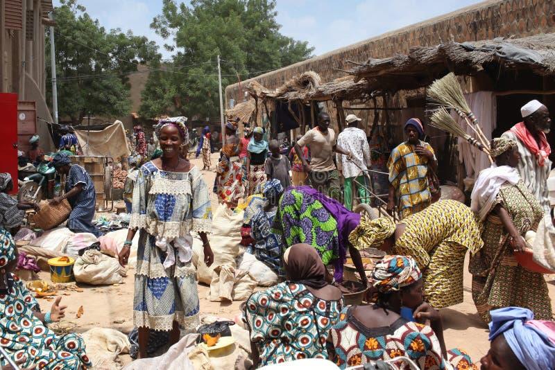Market In Djenne, Mali Editorial Stock Photo