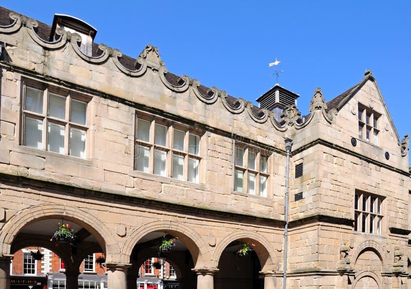 The Market Hall, Shrewsbury. stock photography