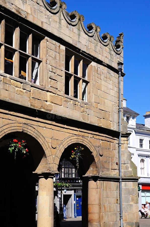 The Market Hall, Shrewsbury. stock photo