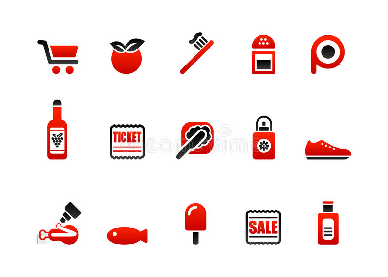 Download Market icons stock vector. Illustration of cart, icicle - 10271503