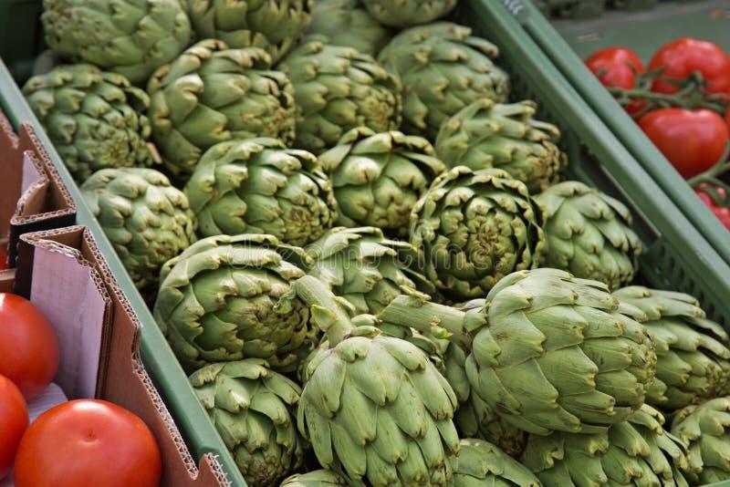 Download Market Organic Artichokes stock photo. Image of market - 31170098