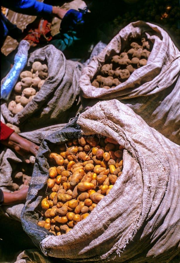 Market- Peru royalty free stock photo