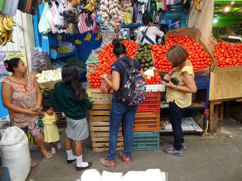 Market Place in Guerrero Mexico stock photos
