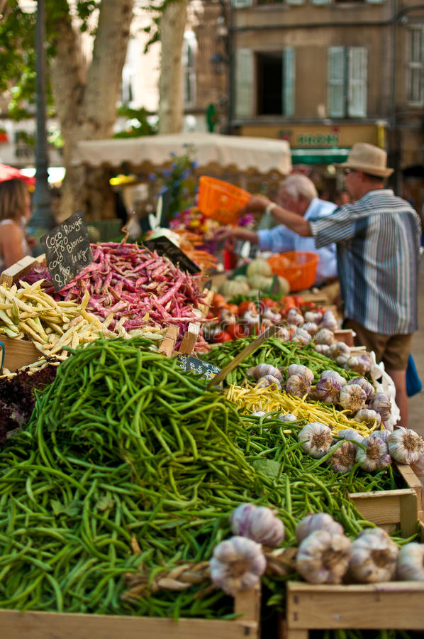 Download Market in Provence stock image. Image of vegetables, greenery - 39508295