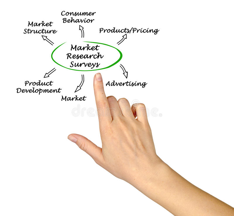 Market Research Surveys royalty free stock images