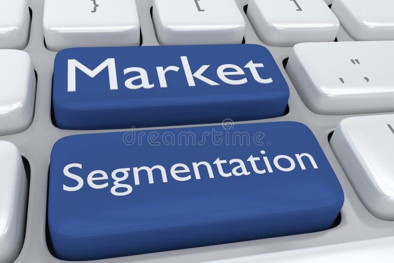 Market Segmentation concept vector illustration