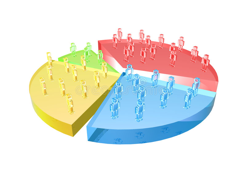 Download Market Share stock illustration. Image of isolated, analysis - 185002