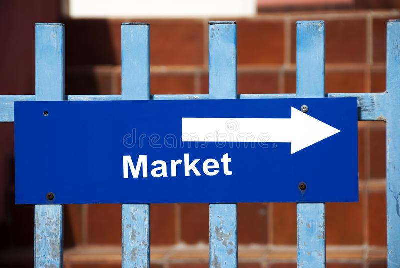 Download Market sign stock photo. Image of commerce, outdoor, goods - 25754302