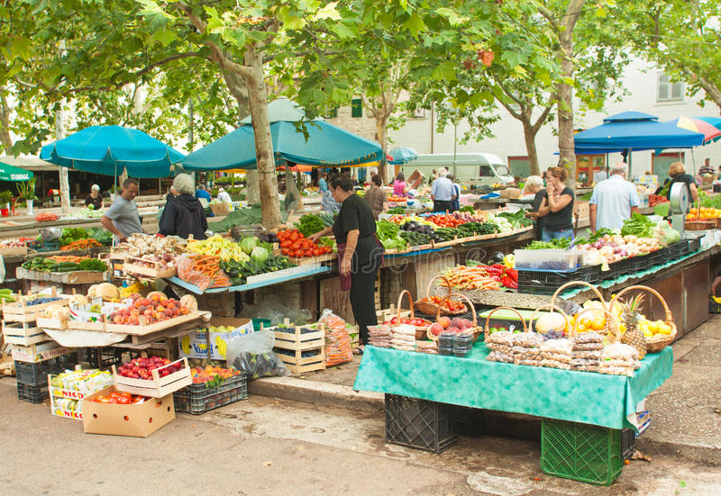 Download Market in Split editorial photography. Image of stand - 26587057