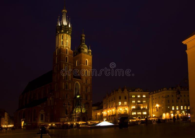 Download Market Square At Krakow, Poland Stock Photo - Image: 23786708